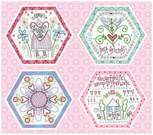 Best Friends Forever - Block of the Month