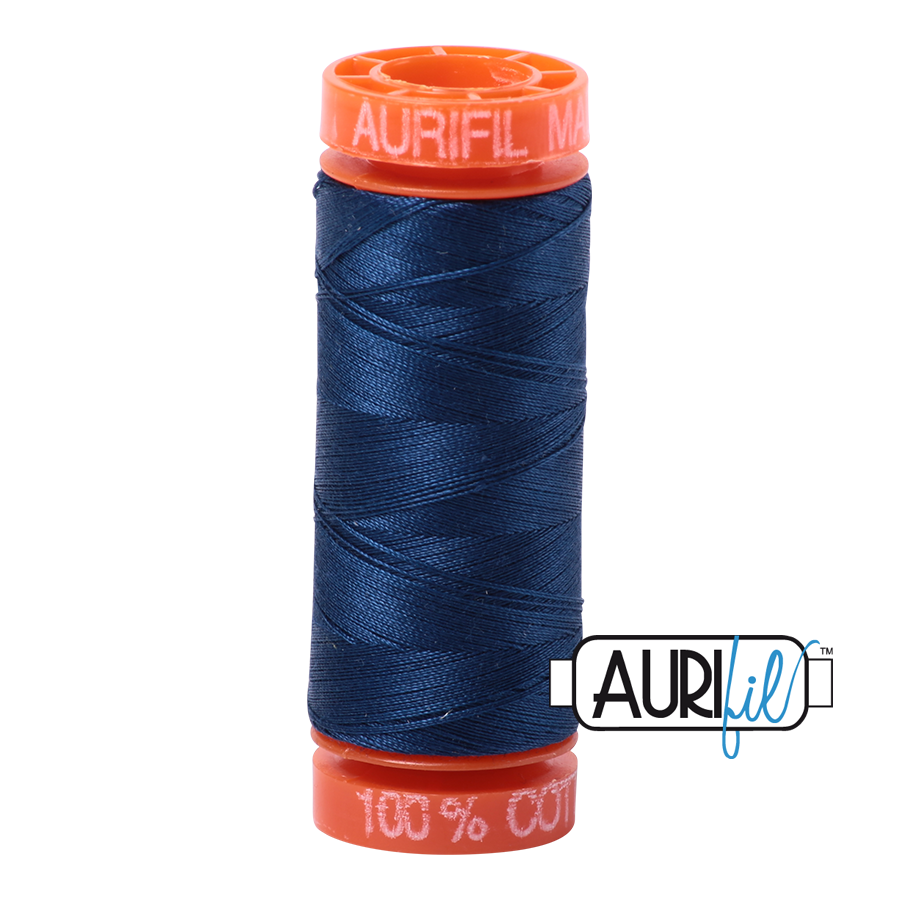 Aurifil - 2783 - 50wt - Medium Delft Blue