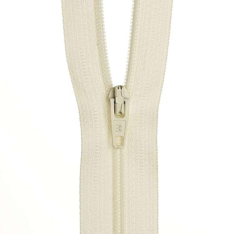 Dress Zip - Cream -18 inches