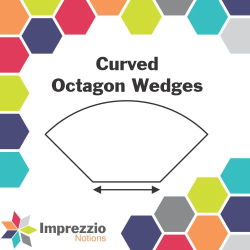 Curved Octagon Wedge