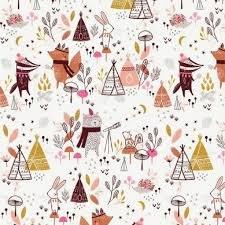 Under the Stars -  Cream Fox  & Tepees