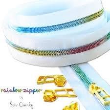Rainbow Zipper x 3 metres
