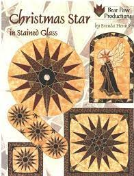 Christmas Star in Stained Glass - Bear Paw Productions