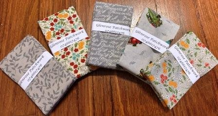 Cultivate Kindness FQ Pack x 5 - Grey