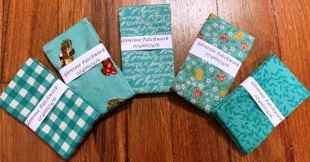 Cultivate Kindness Fat Quarter Pack x 5   - Teal
