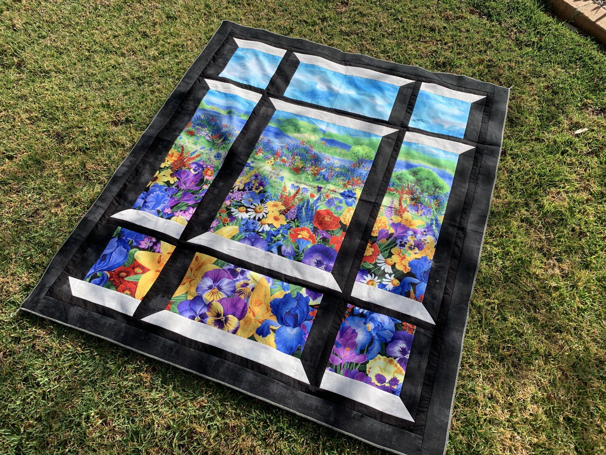 Garden Attic Window - Kit