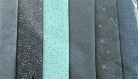 Fat Quarter Pack x 6 - Blue 2