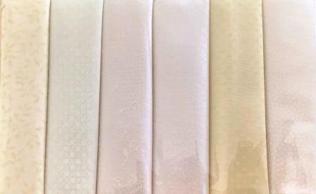 Fat Quarter Pack x 6 - Cream 2