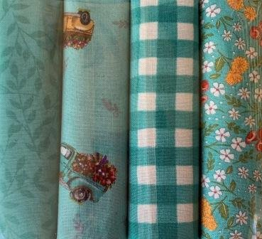 Cultivate Kindness FQ Pack X 4 - Teal