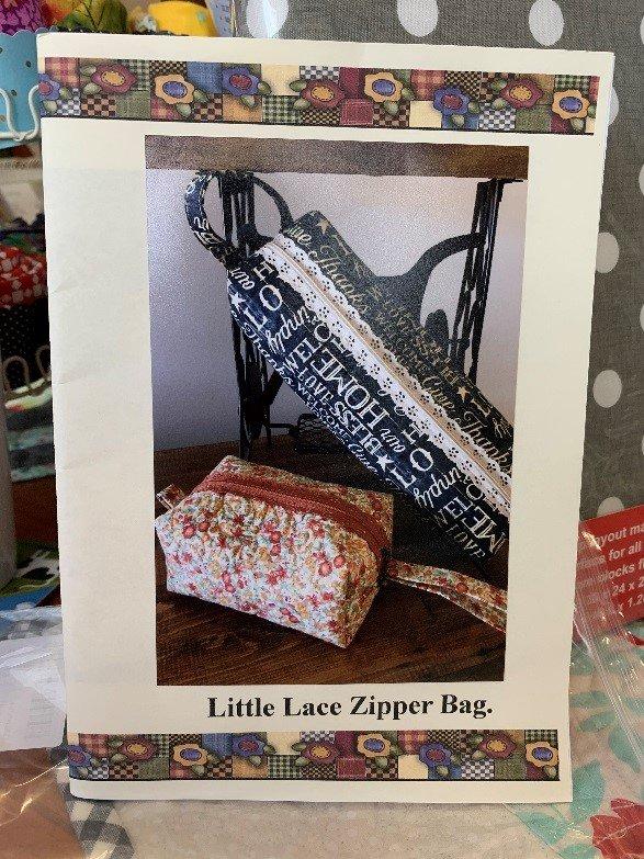 Little Lace Zipper Bag Kit - Large