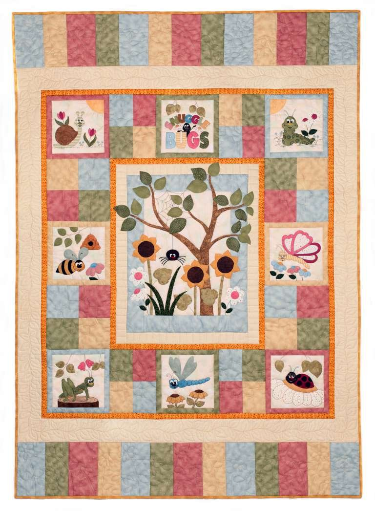 Snuggle Bugs - Block of the Month