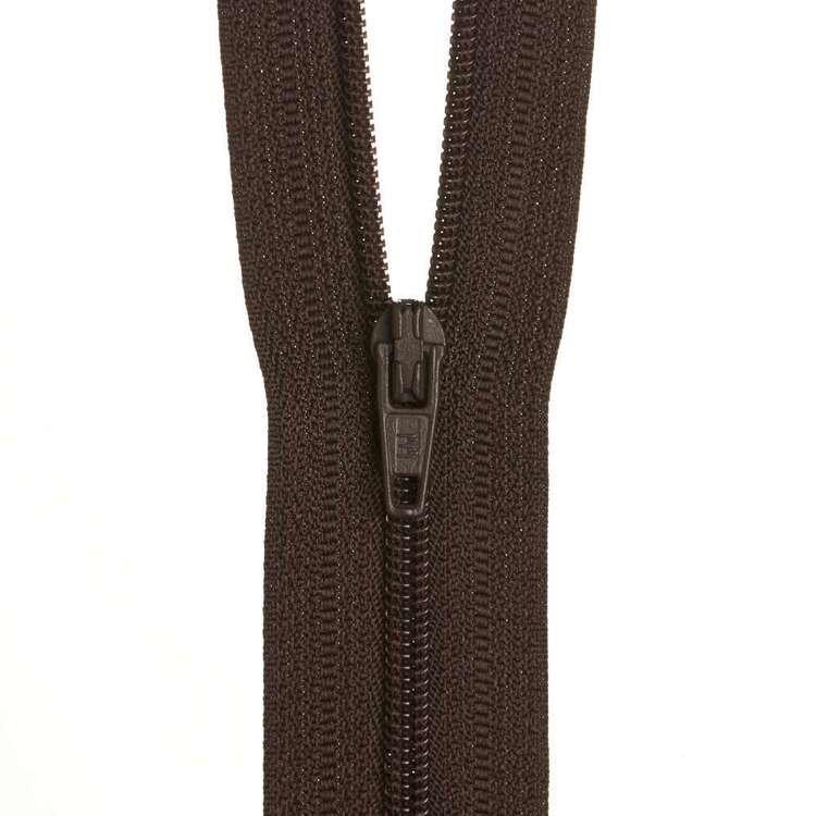 Dress Zip - Mustang - 14 inches