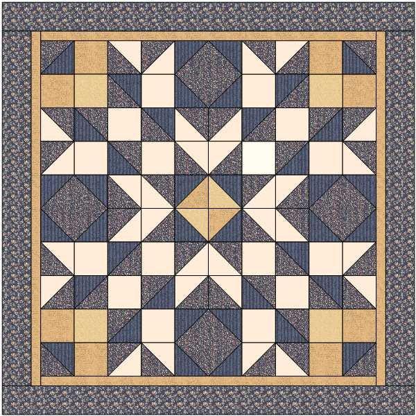 Glenrose Mystery Quilt - Kit