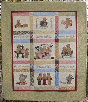 Sew Busy Bears - Block of the Month
