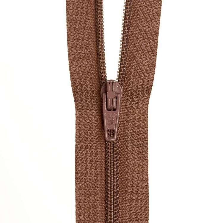 Dress Zip - Tan 283 - 18 inches