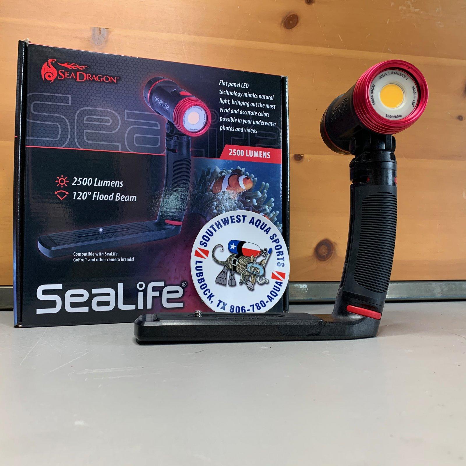 Sea Dragon 2500 Photo/Video/Dive Li