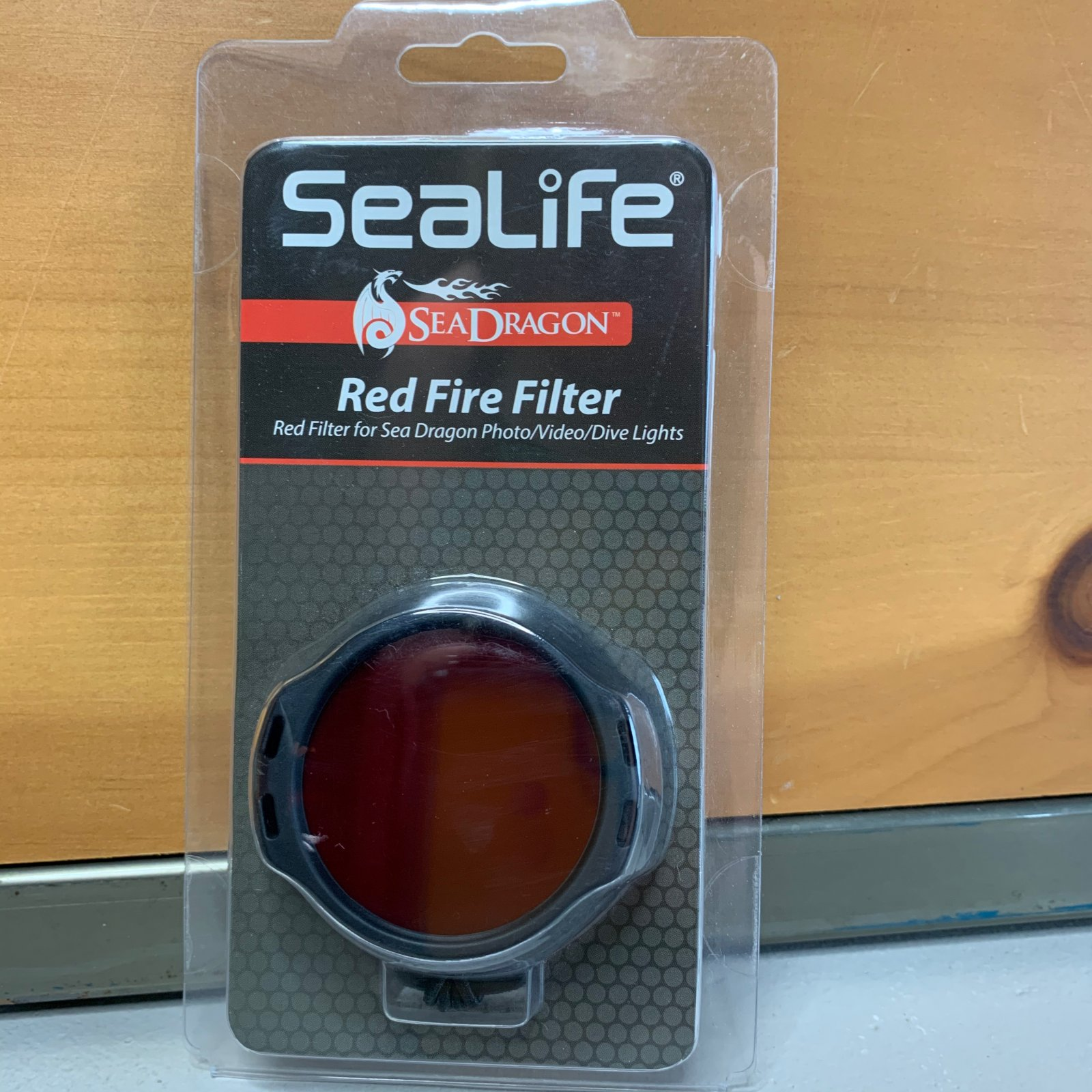 Red Fire Filter (Photo/Dive/Video)