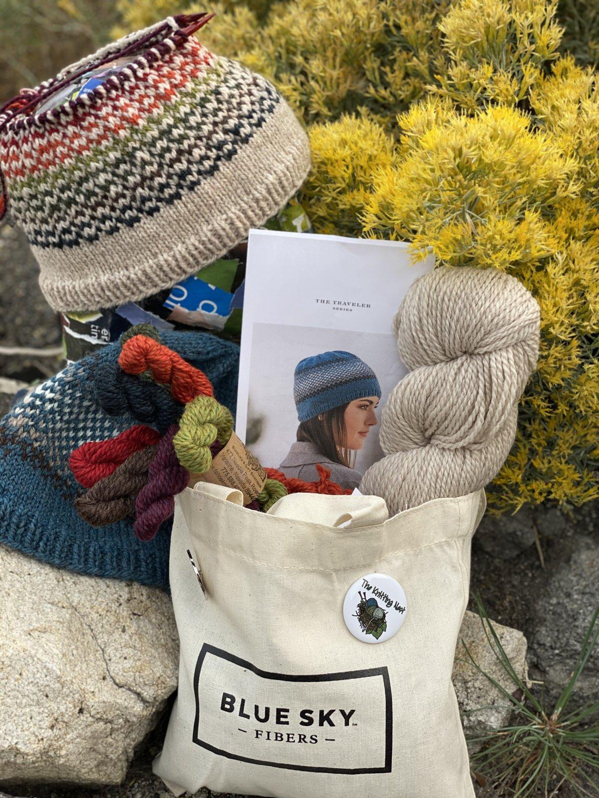 Yarn Crawl Kit! Breckenridge (Tahoe colorway) Hat