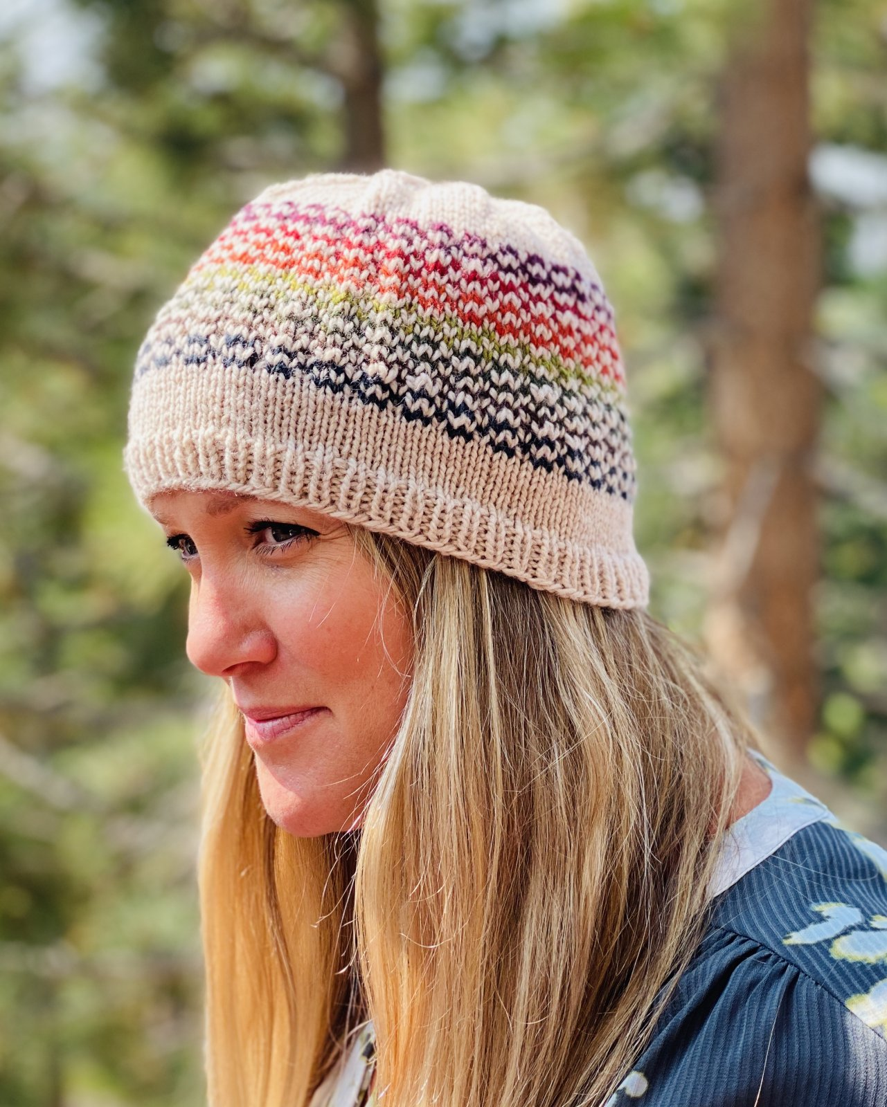 Yarn Crawl Kit! Breckenridge (Tahoe colorway) Hat