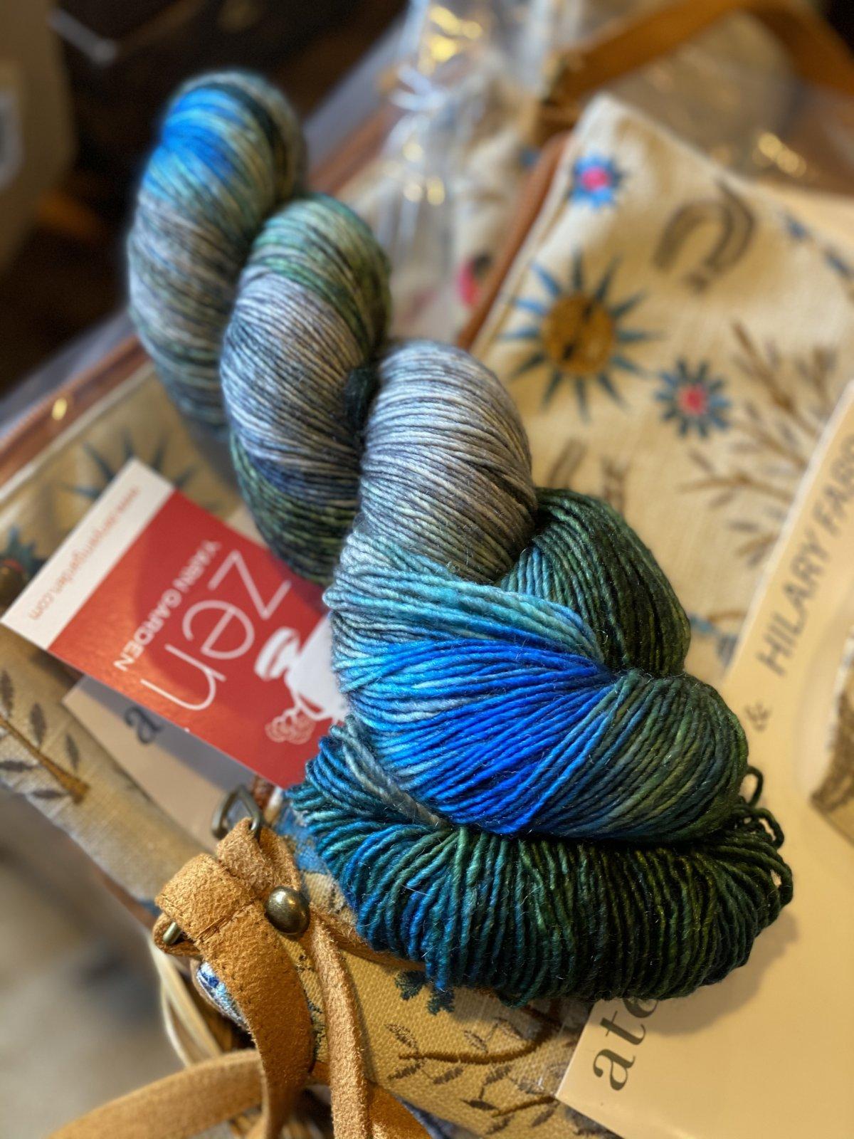 Serenity Silk Single-Tahoe colorway