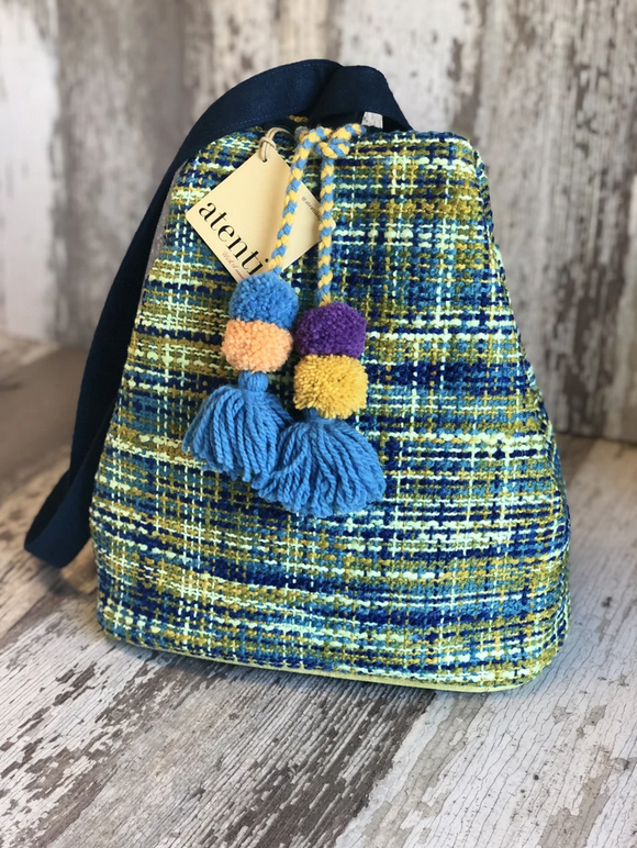 Backsac Peacock Tweed