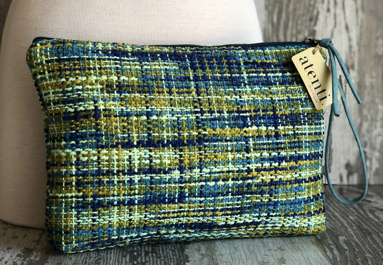 Pouch Peacock Tweed