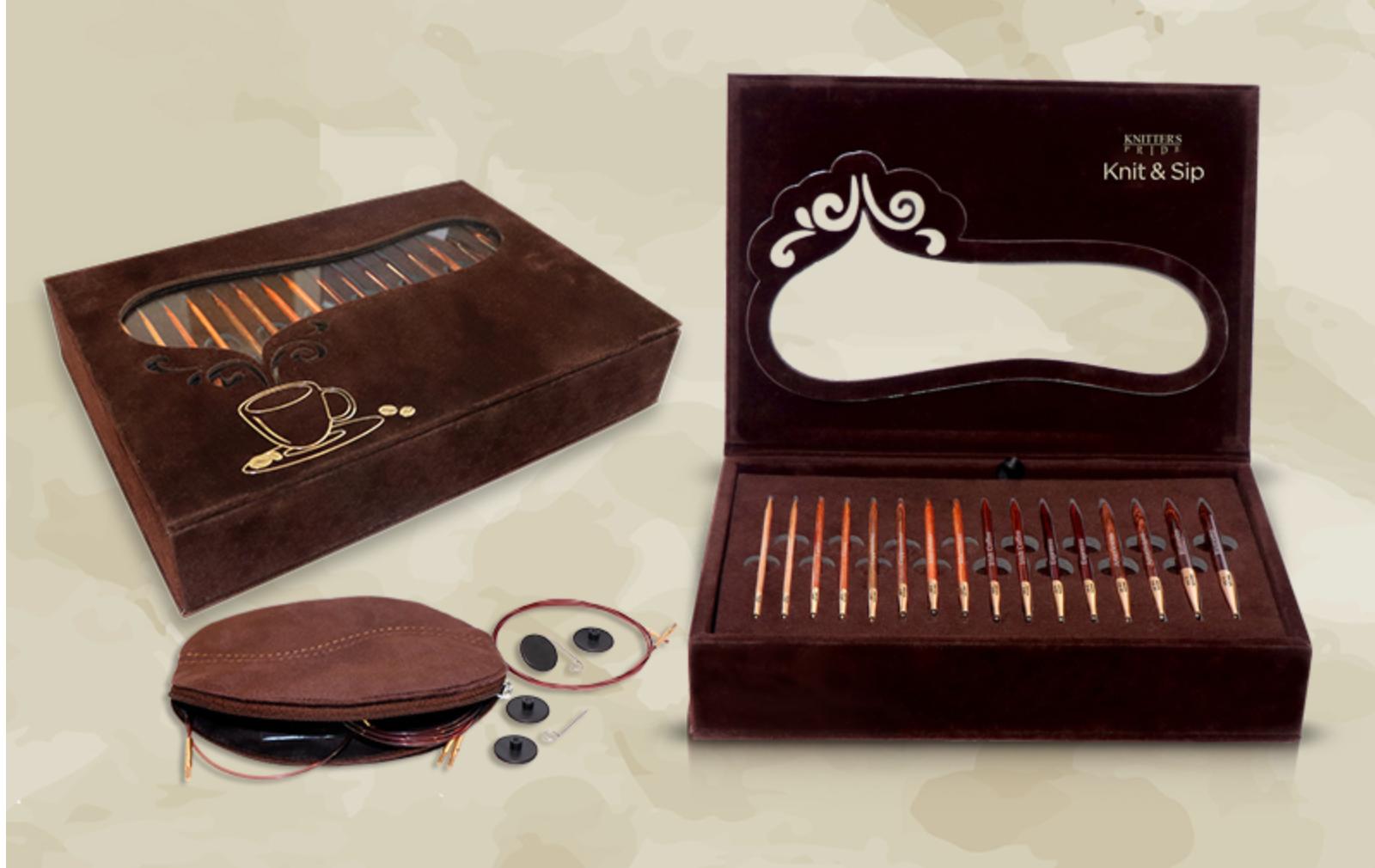 Knit & Sip Needle Set