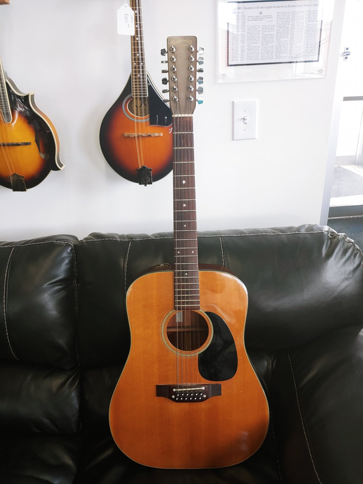 Takamine Vintage 1981 12 String EF-385 Acoustic Electric (consignment)