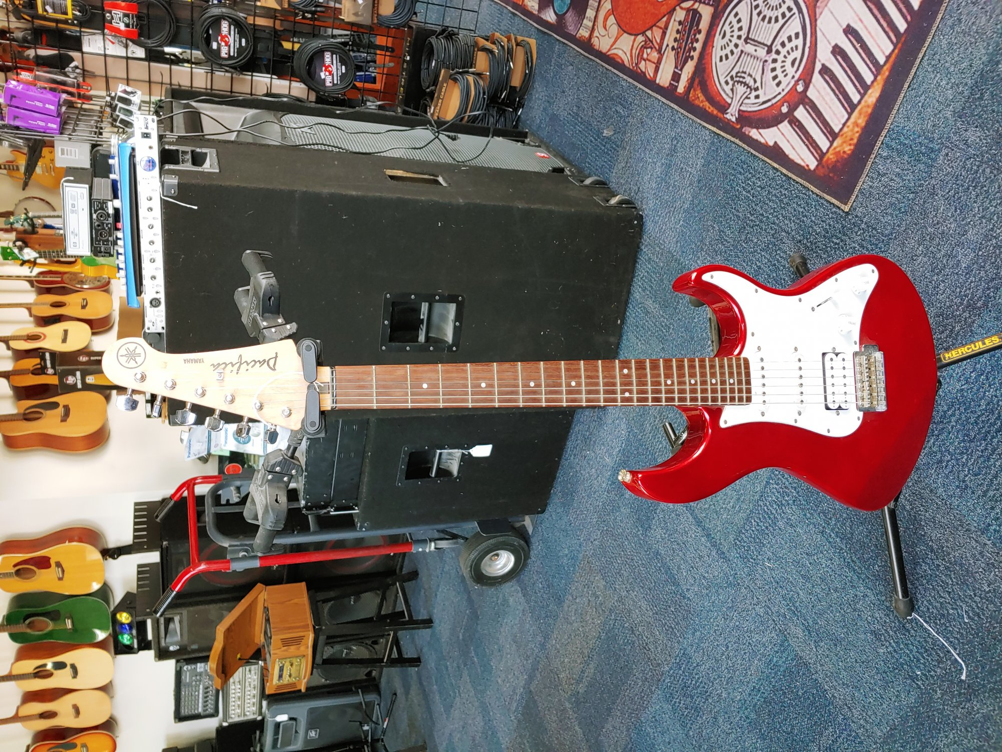 Yamaha Pacifica PAC 012 Cherry Red Electric Guitar (consignment)