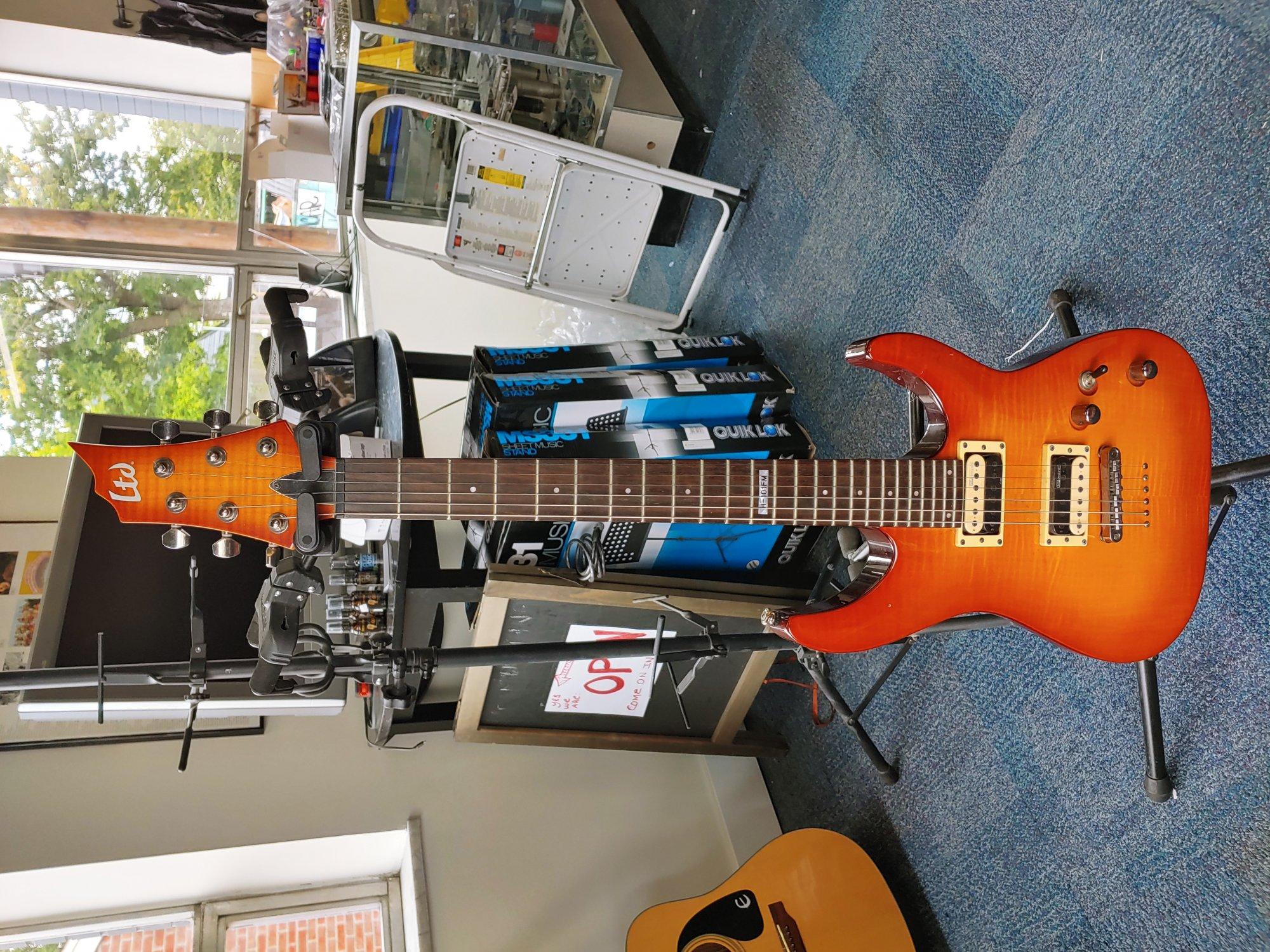 ESP LT H-101FM Guitar (consignment)