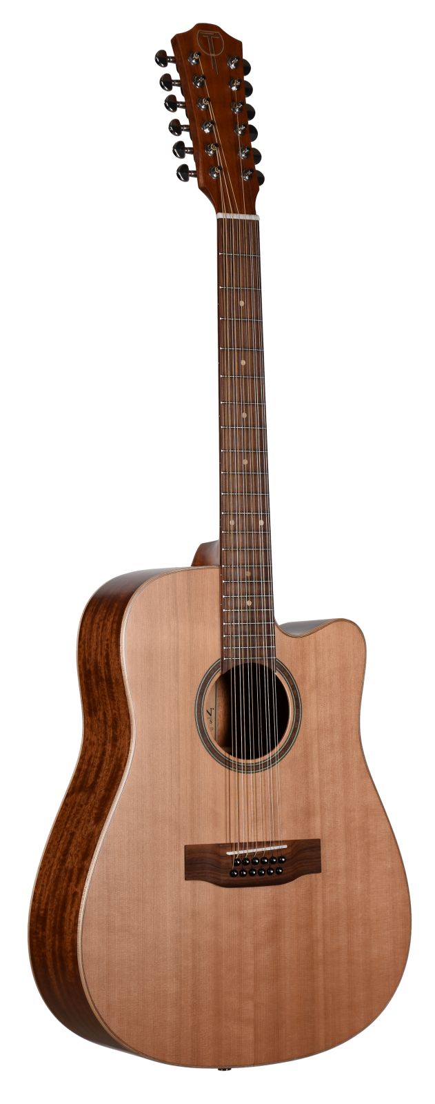 Teton STS105CENTER-12 12 String Acoustic Electric Guitar