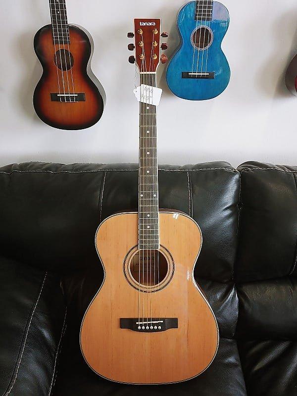 Tanara Grand Concert Acoustic Guitar Natural 3-Band Eq