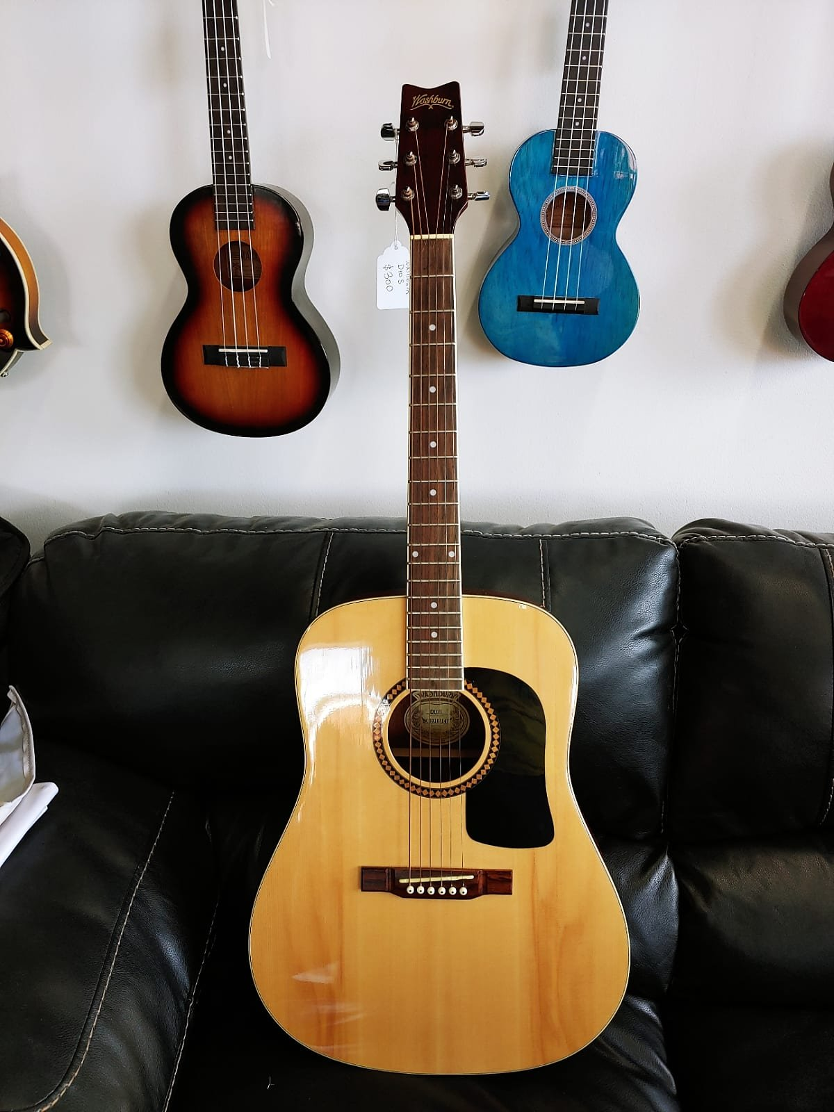 Washburn D10S Acoustic Guitar (used)