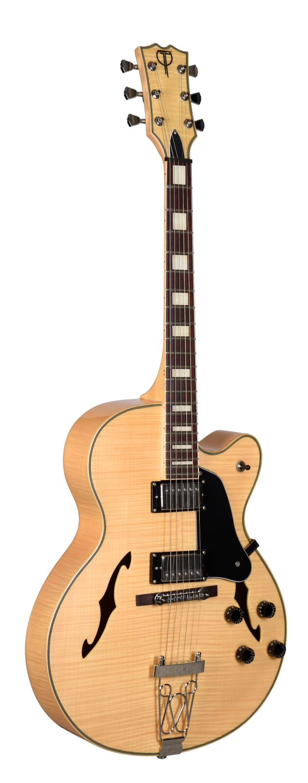 F Series Hollow Body Electric Teton Guitar