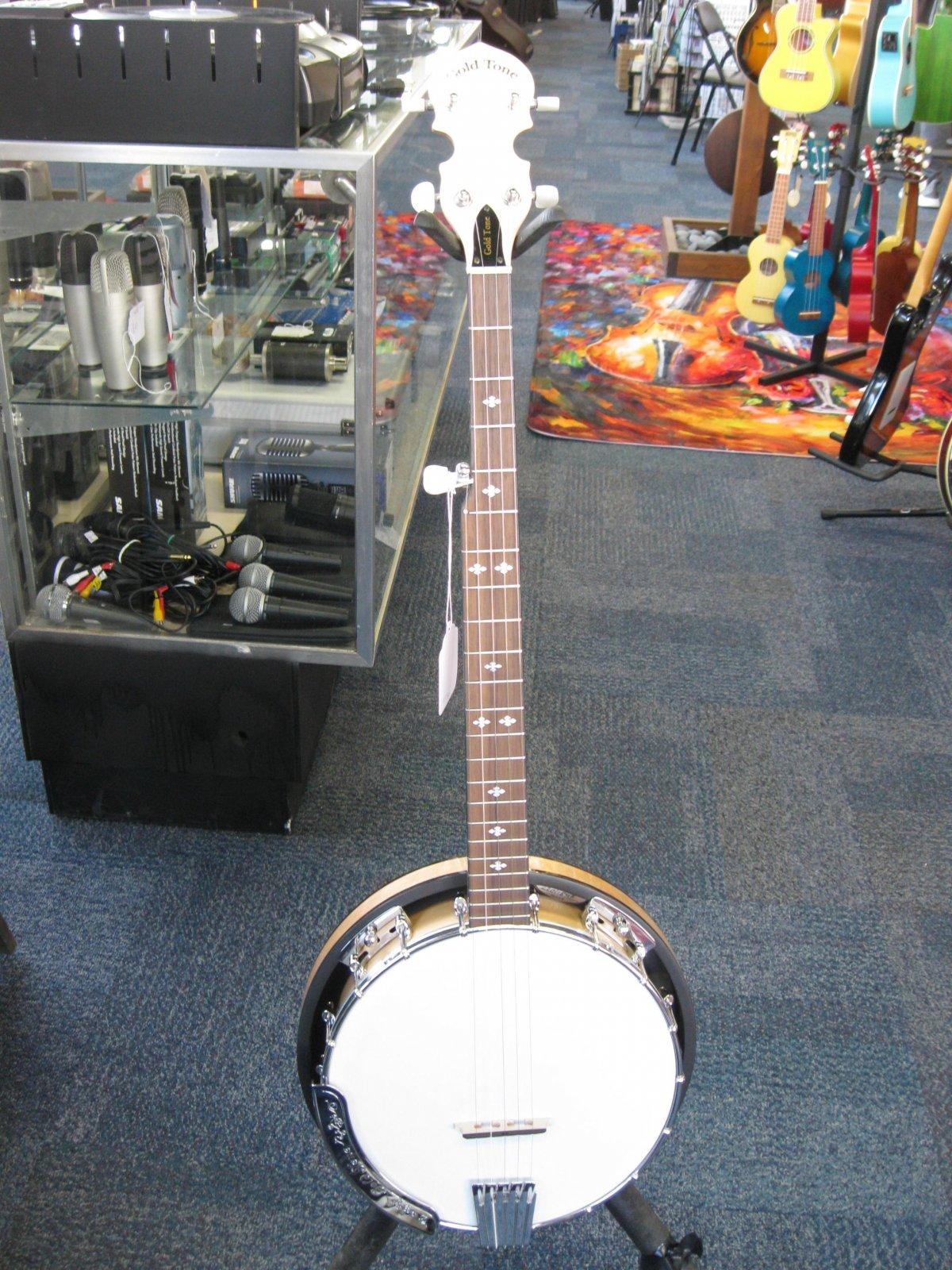 Goldtone CC-100R Cripple Creek Resonator Banjo