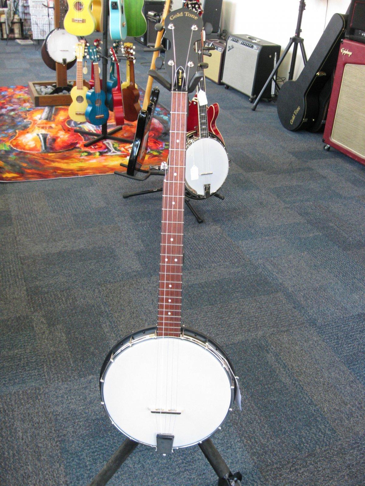 Goldtone AC-1 Open Back Banjo w/ Gigbag