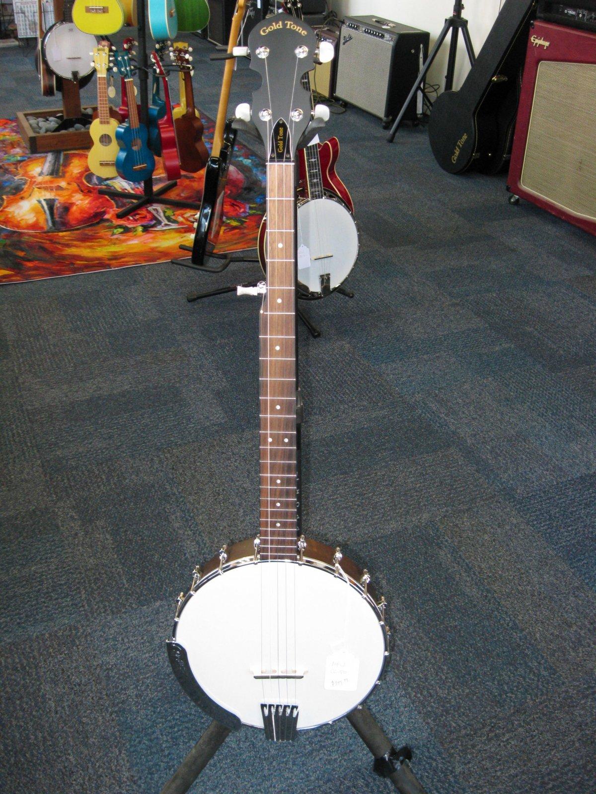 Goldtone CC-50 Openback Banjo w/ Gig Bag