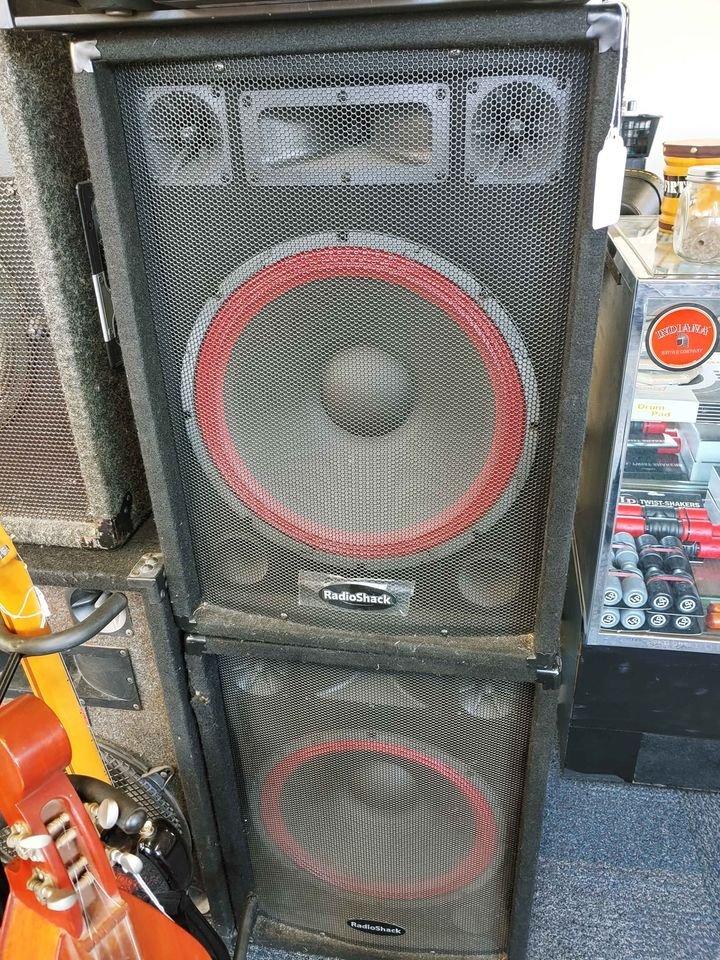 Radioshack 40-215 PA Speakers