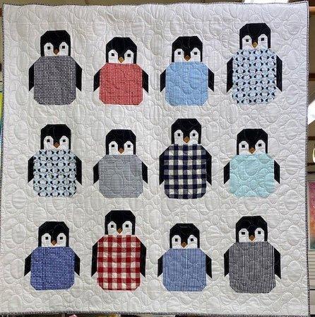 Penguin Party 50x50