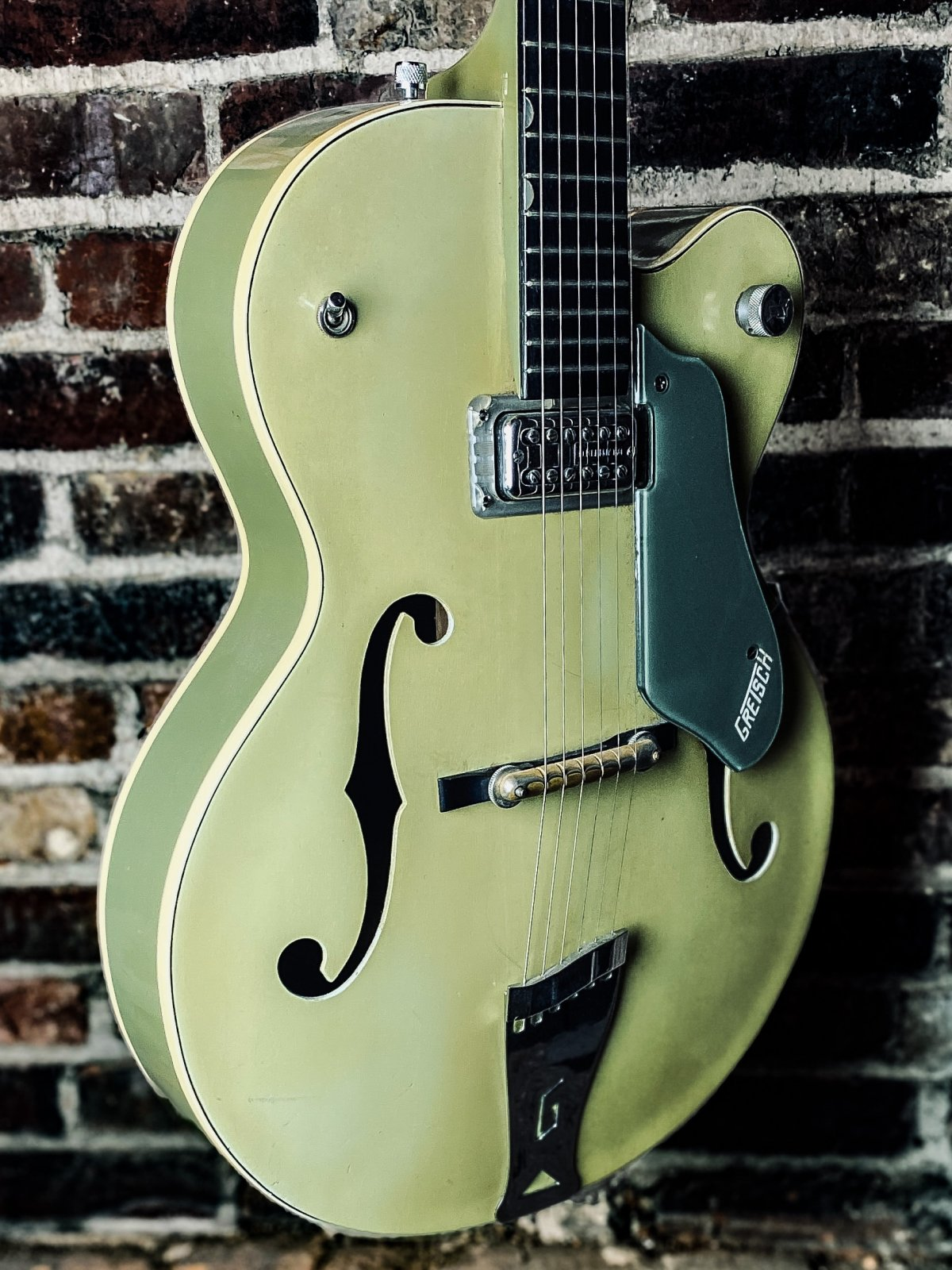 1958 Gretsch 6125 Single Anniversary Smoke Green