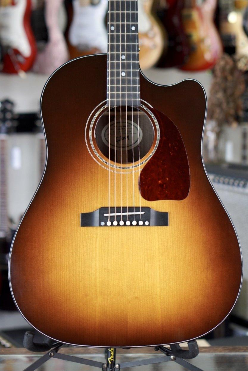2019 Gibson J-45 Walnut M Walnut Burst Acoustic/Electric