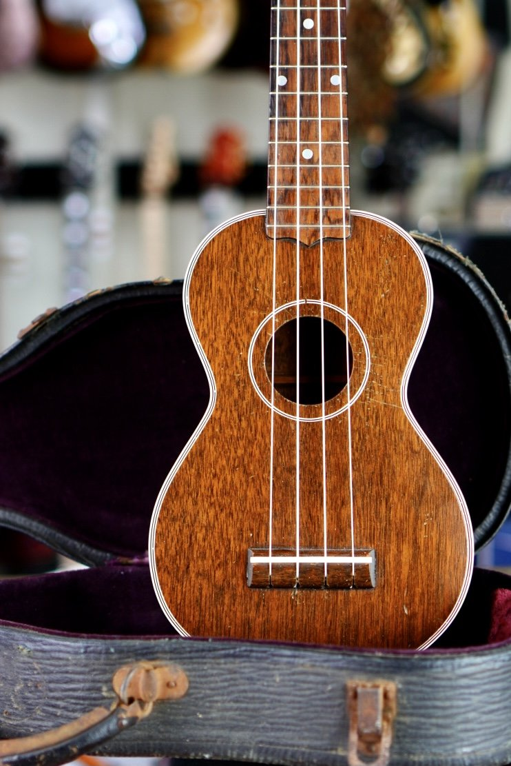 1948 Gibson Mahogany Soprano Ukulele Rare Configuration