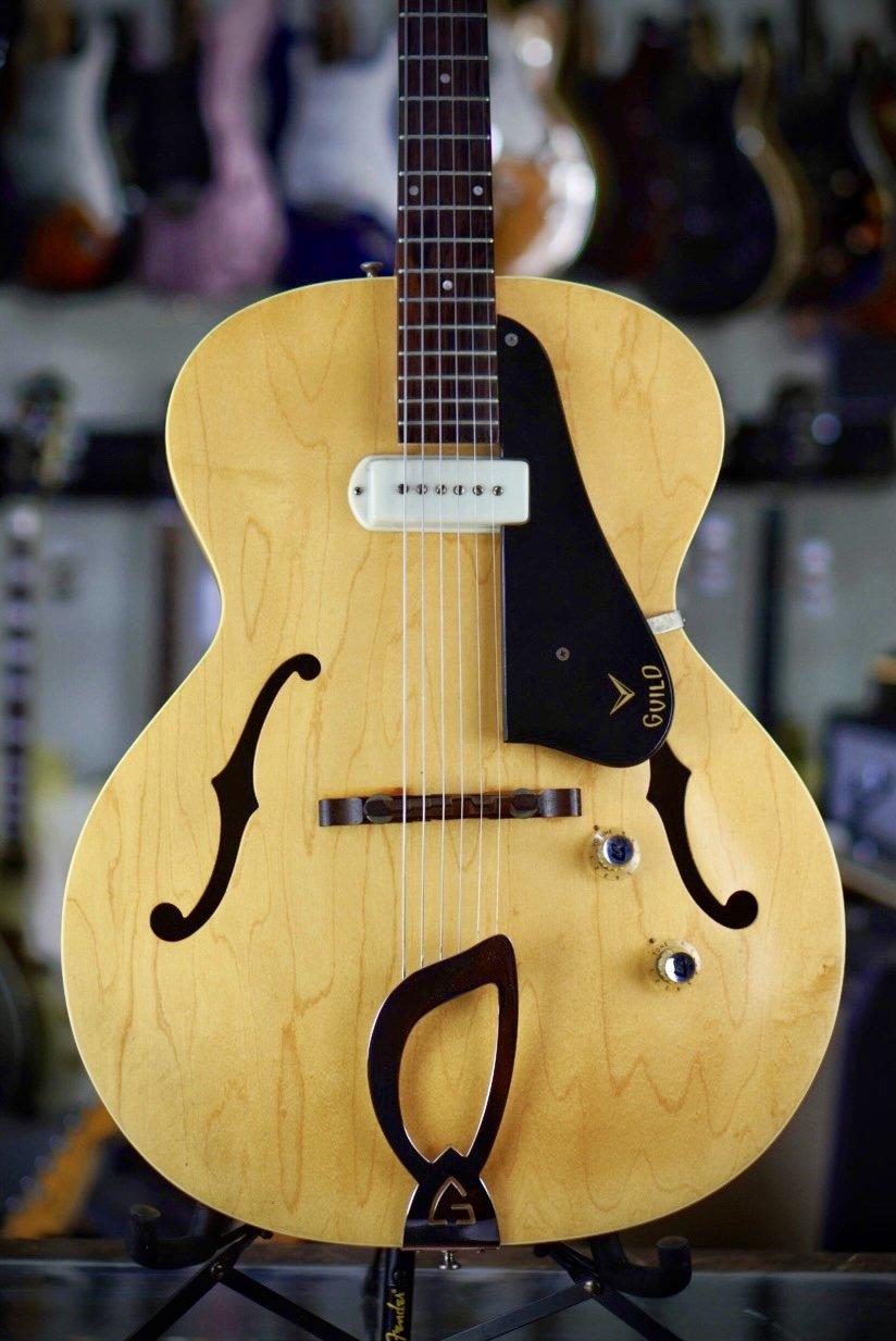 1963 Guild X-50 Blonde