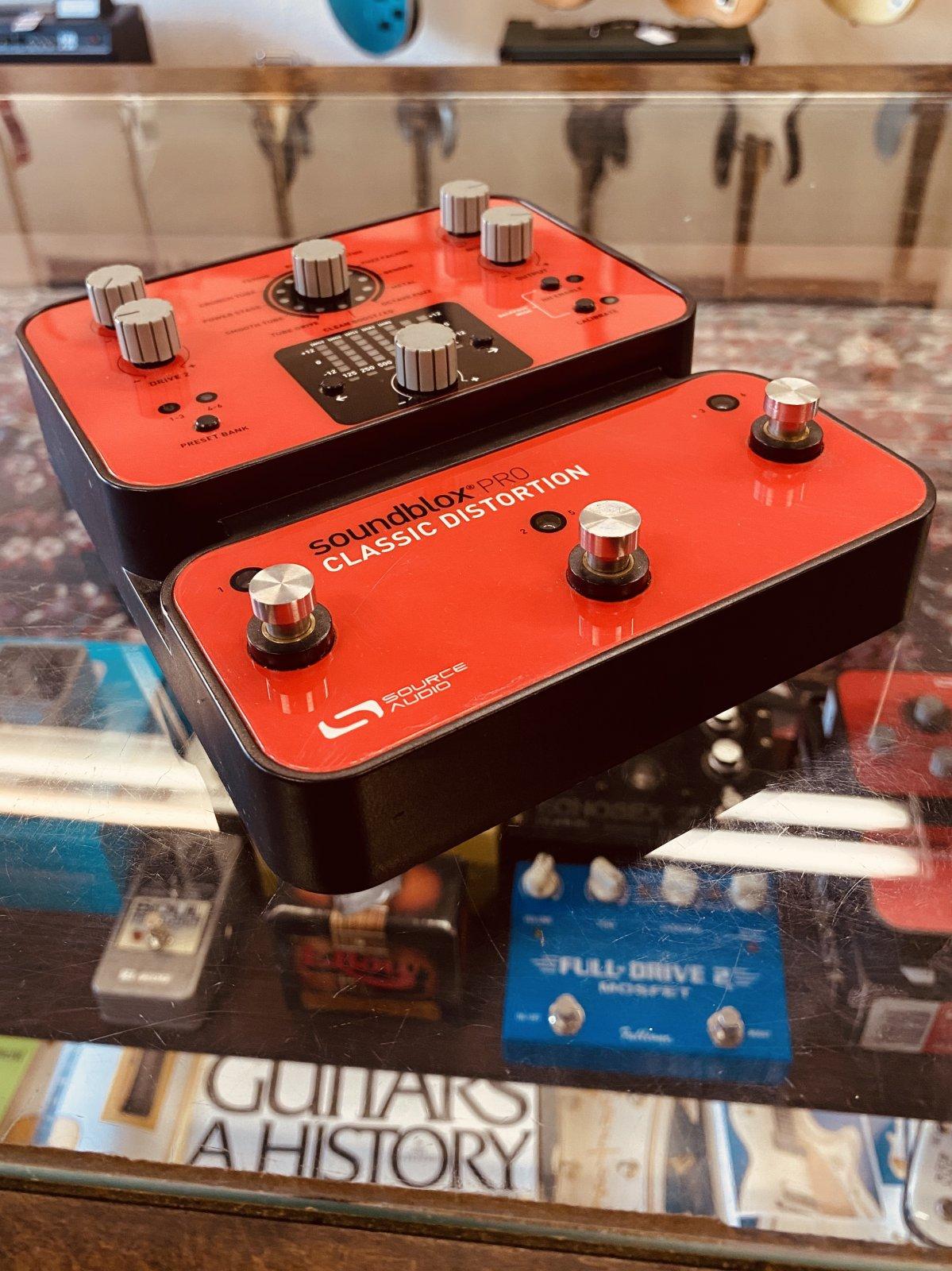 Source Audio Soundblox Pro SA142 Classic Distortion (used)