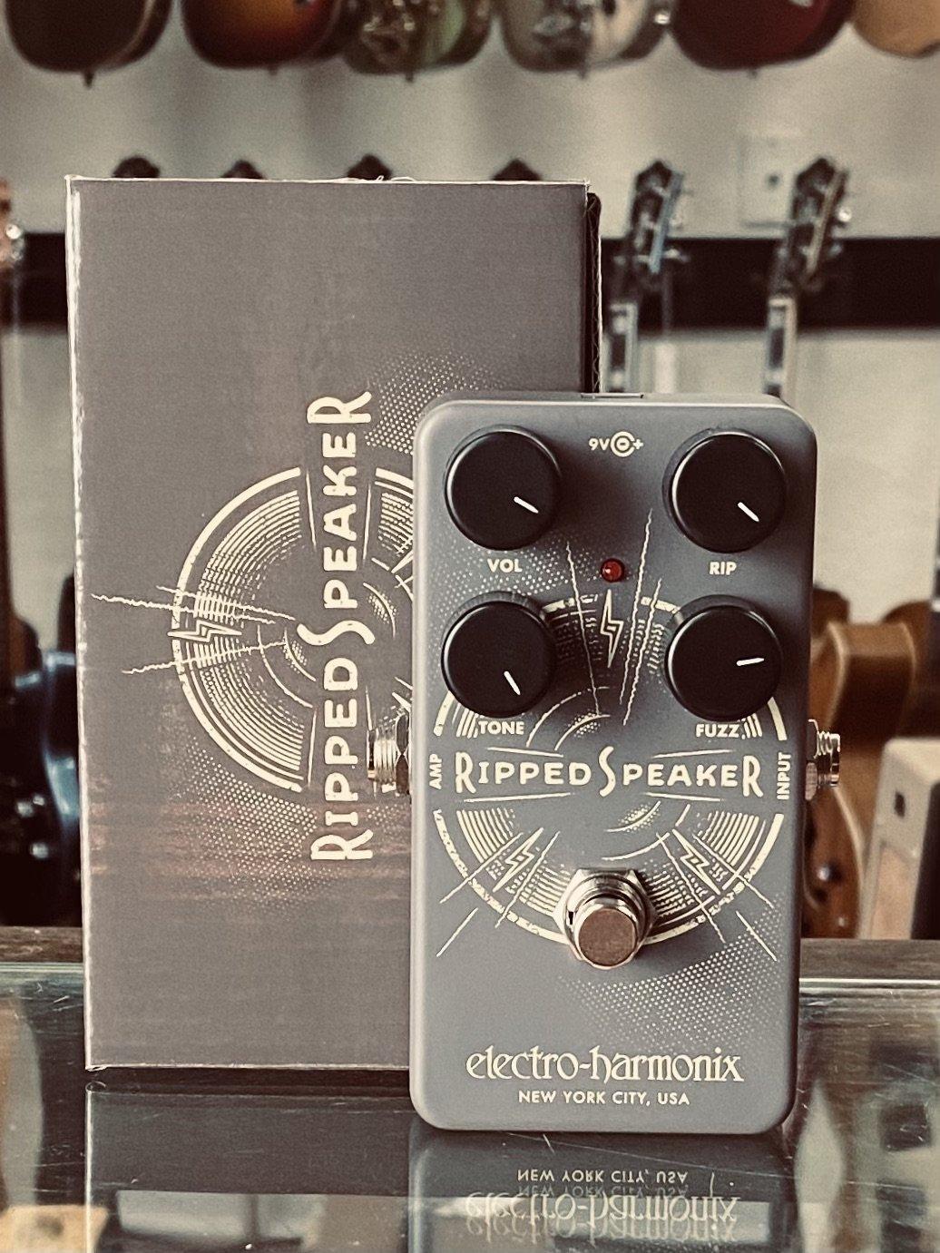 Electro-Harmonix Ripped Speaker Fuzz Pedal (new)