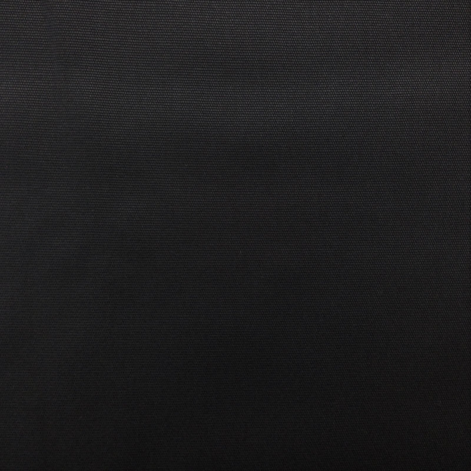 Canvas Solid 100% Cotton Black