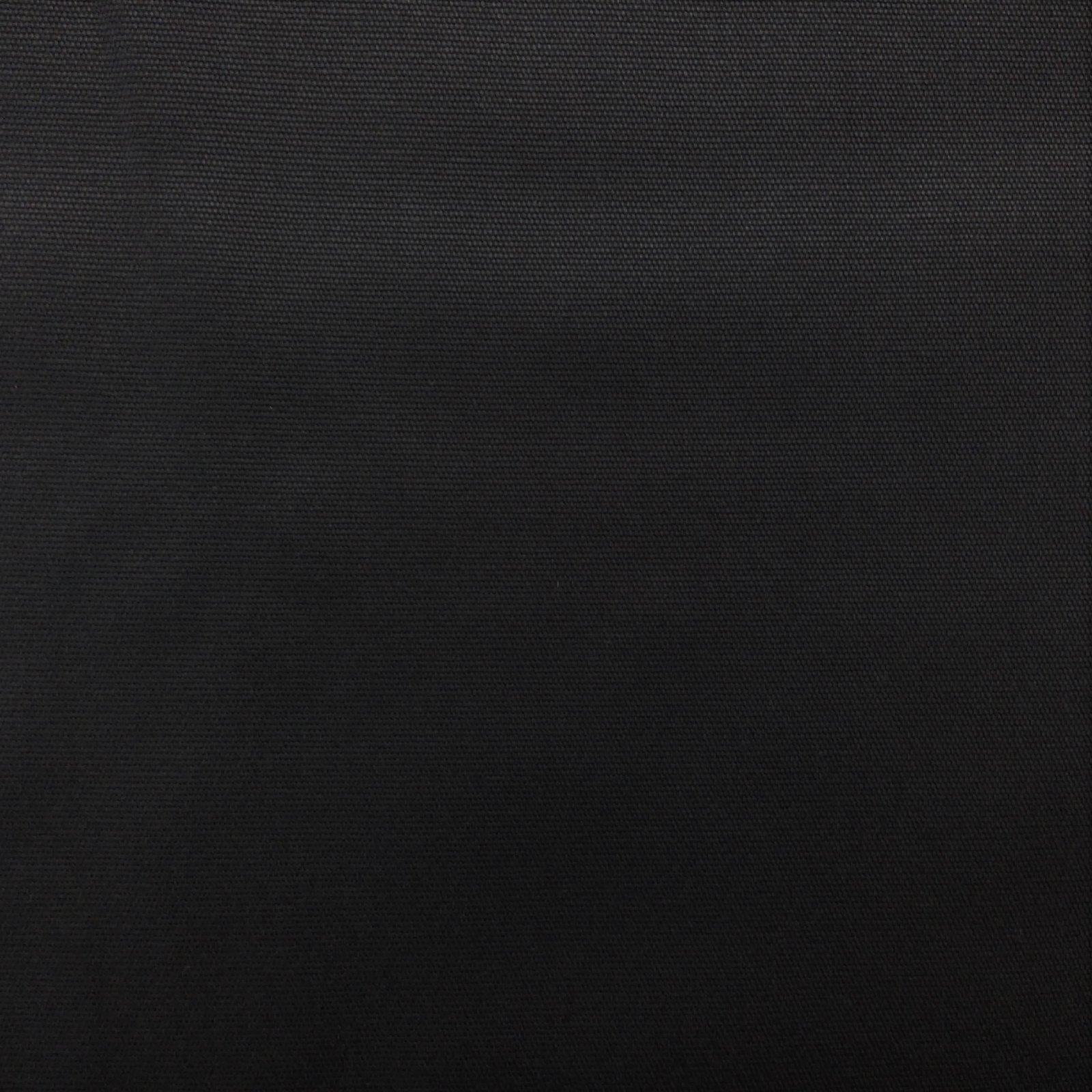 Canvas Solid 10 oz Black
