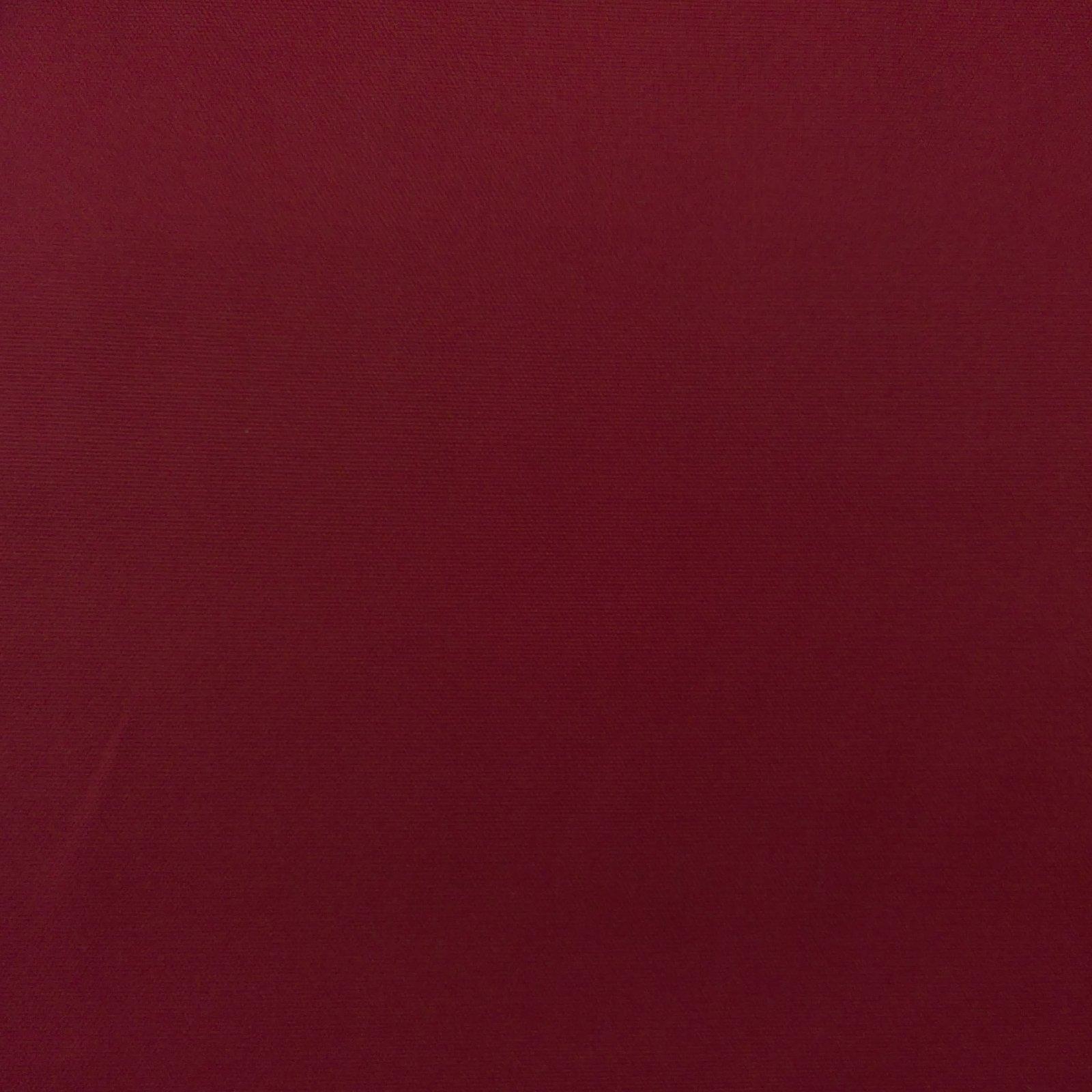 Canvas Solid 10 oz Bordeaux
