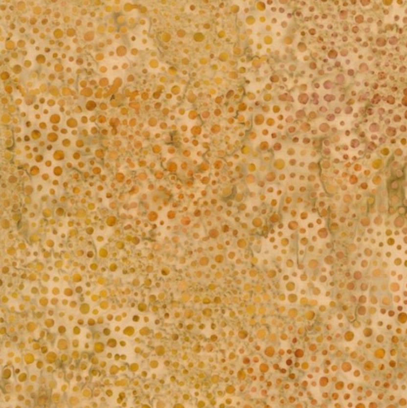 Batik 100% Cotton Peppers Yellow