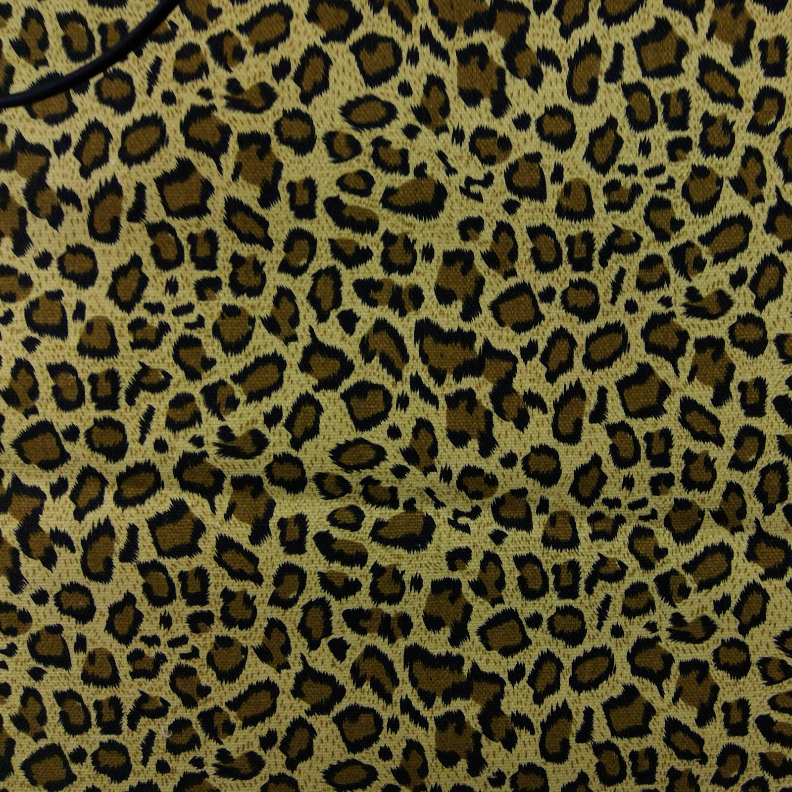 Canvas Print 100% Cotton, Leopard